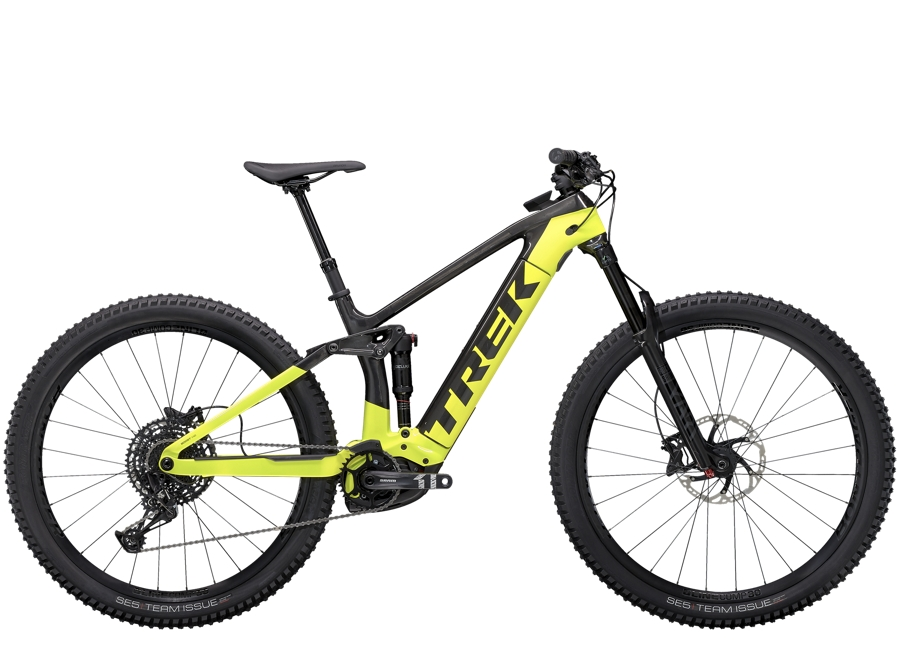 Trek Rail 9.7 S Raw Carbon/Volt